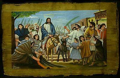 Jesus entry